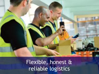 Flexible, honest & reliable logistics
