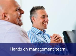 Hands on management team